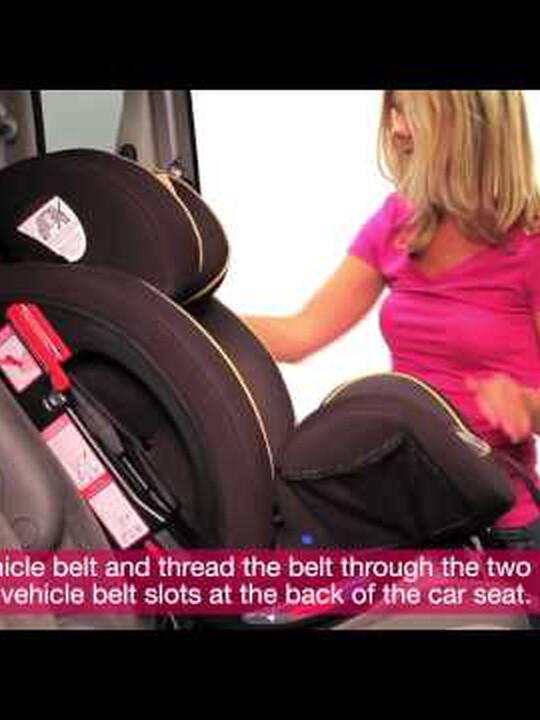 مقعد سيارة Joie Stages - إصدار Caviar image number 4