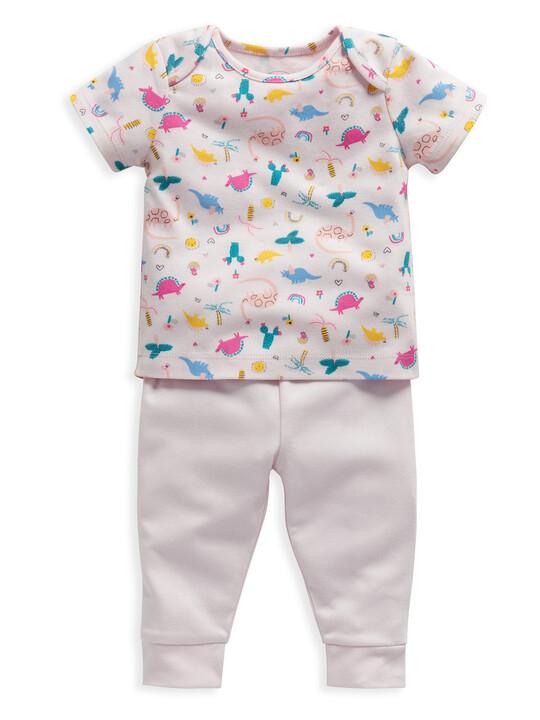 Dinosaur Print Jersey Pyjamas image number 1
