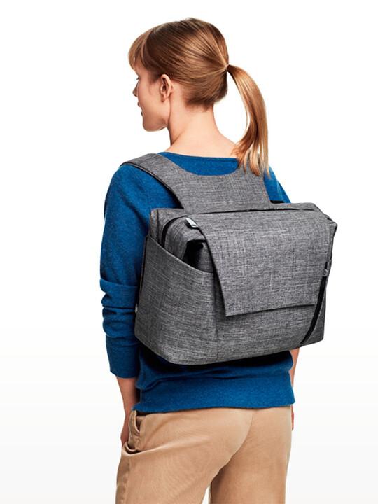 حقيبة تغيير ستوكي- بمزيج من اللون الأسود image number 3