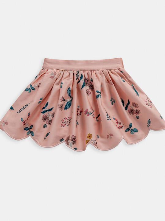 Floral Print Bodysuit & Skirt 2 Piece Set image number 4