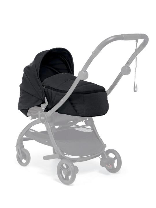 مجموعة مقعد عربة أطفال ايرو لحديثي الولادة - أسود image number 2