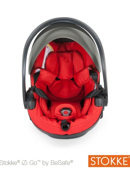 مقعد سيارة Stokkeå¨ iZi Go X1 من BeSafe - أحمر image number 1