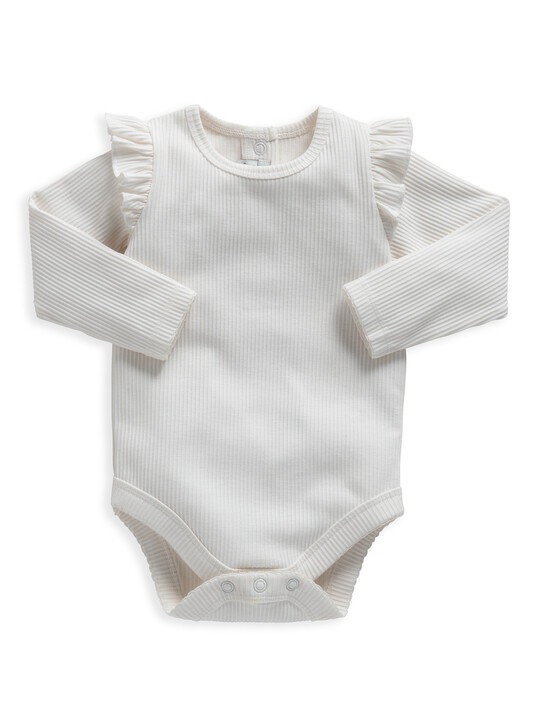 Frill Jersey Bodysuit image number 1