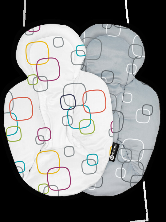 بطانة بوجهين لحديثي الولادة من فور مامز - متعدد الألوان image number 4