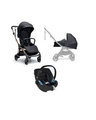 Airo Bundle - 3pc Black Carrycot