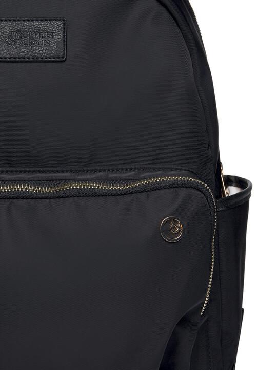 حقيبة ظهر للتغيير بحامل للزجاجات - نايلون أسود image number 6