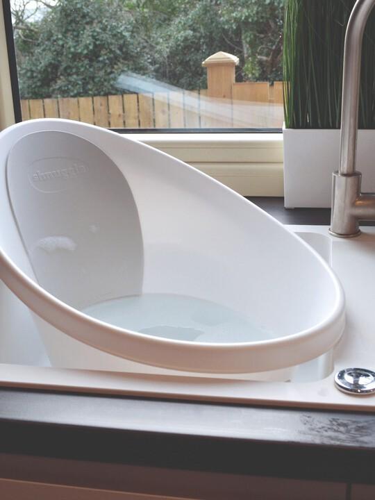 حوض استحمام شناغل - أبيض ورمادي image number 8