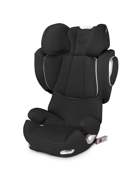 مقعد سيارة Cybex Solution Q2 Fix - أسود رقيق image number 1