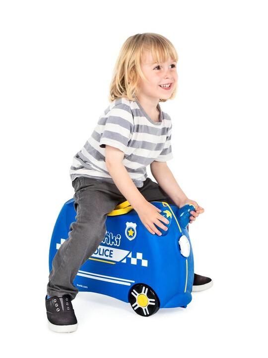 حقيبة سفر بتصميم سيارة الشرطة بيرسي من ترانكي image number 4