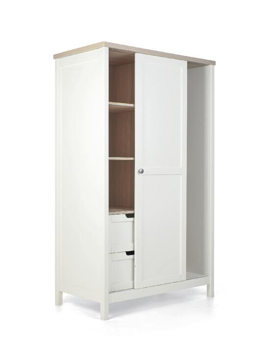 خزانة هارويل - أبيض وبني image number 7