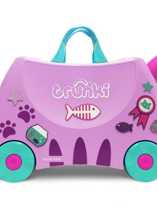 حقيبة سفر بتصميم القطة كاسي من ترانكي image number 1