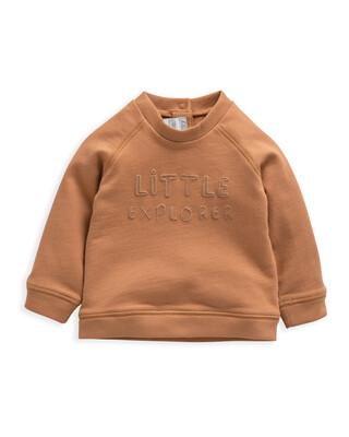 Explorer' Slogan Sweatshirt