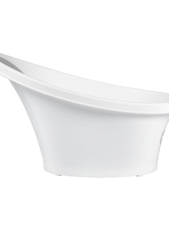 حوض استحمام شناغل - أبيض ورمادي image number 5