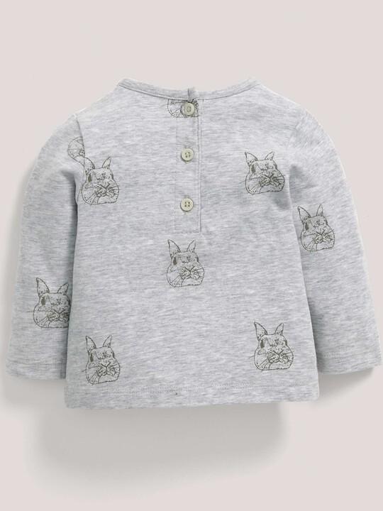 Bunny Print T-Shirt image number 3