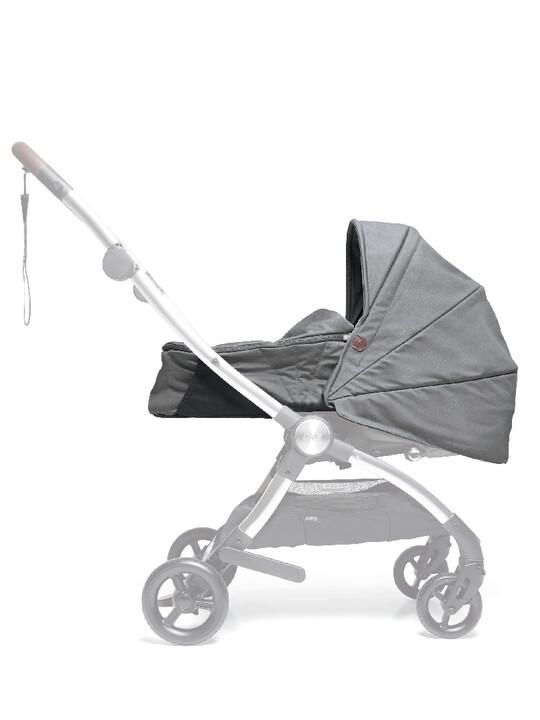 مجموعة مقعد عربة أطفال ايرو لحديثي الولادة - رمادي image number 1
