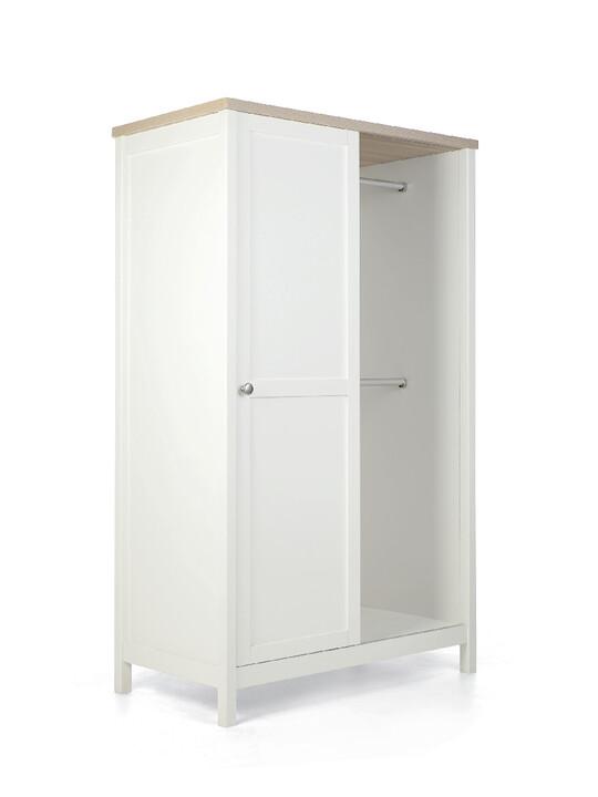 خزانة هارويل - أبيض وبني image number 2