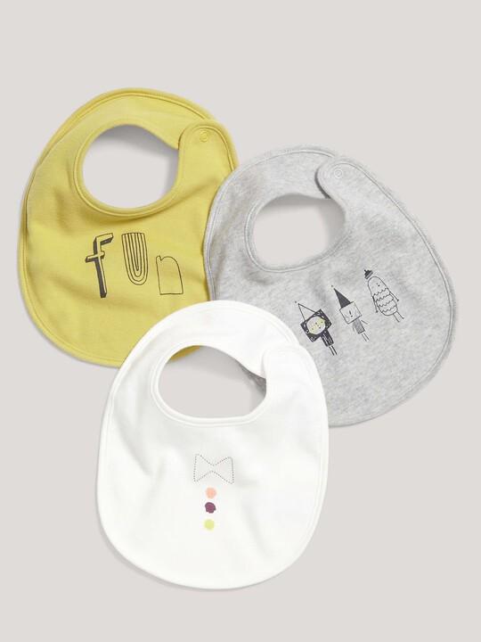 صدرية أطفال كوربي تيندرستيكس تُلفّ حول الرقبة (طقم من 3 قطع) image number 1
