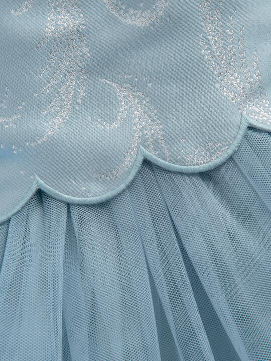 Feather Print Jacquard Dress image number 3