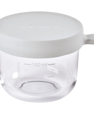 Beaba Conservation Jar Glass 150ml Light Mist