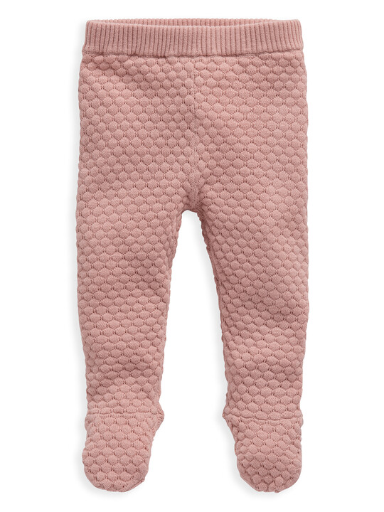 Pink Knitted 2 Piece Set image number 3