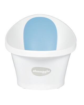 حوض استحمام شناغل - أبيض وأزرق