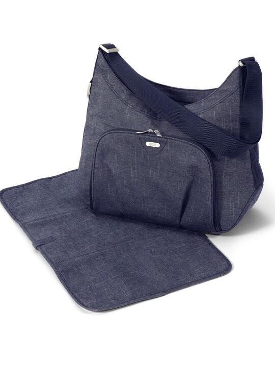 حقيبة تبديل الملابس المحمولة على الكتف Ellis من قماش الدنيم image number 2