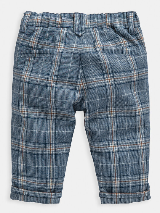 Blue Check Trousers image number 2