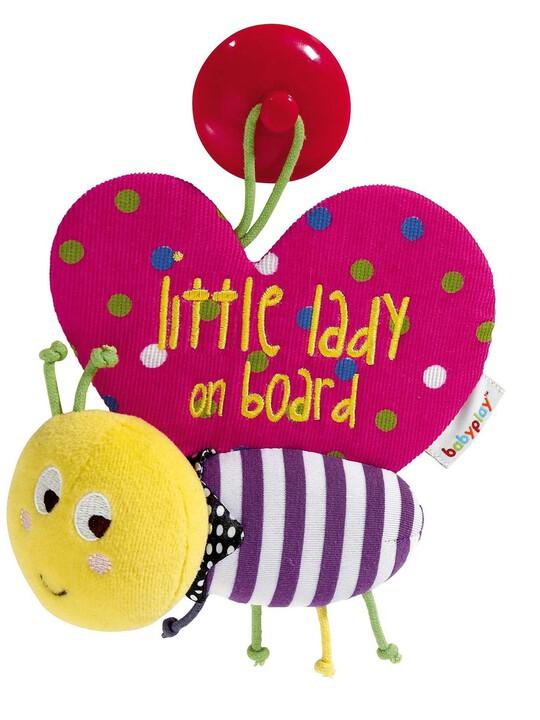 فراشة بشعار Baby On Board - Babyplay image number 1