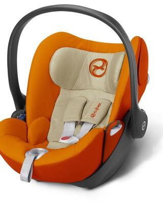 مقعد سيارة سايبكس آتون Q بلاس - برتقالي