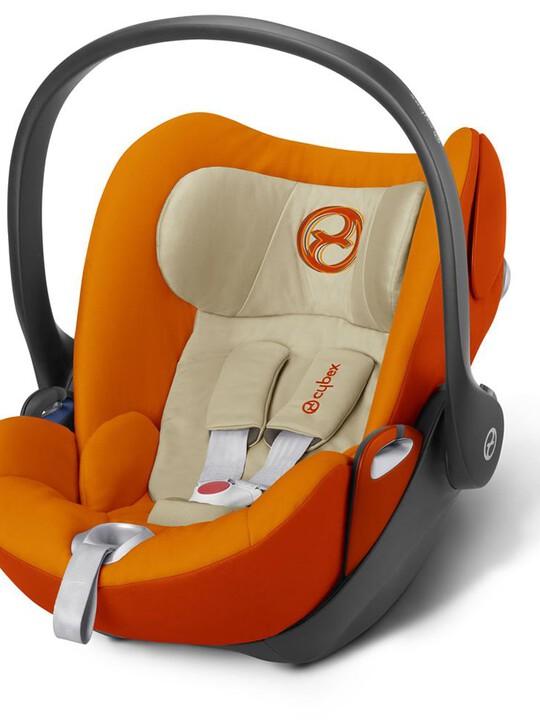 مقعد سيارة سايبكس آتون Q بلاس - برتقالي image number 1