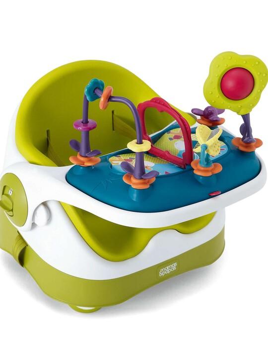 مقعد الطفل مع لوحة الألعاب - ليموني image number 1
