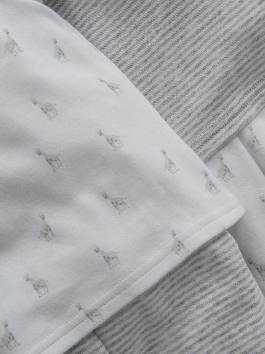 Giraffe Print Pyjamas 2 Pack image number 2
