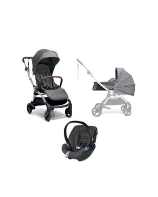 Airo Bundle - 3pc Grey Carrycot