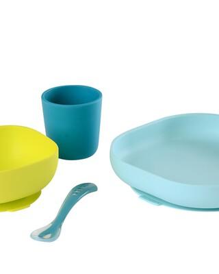 مجموعة أدوات طعام سيليكون من بيبا - 4 قطع