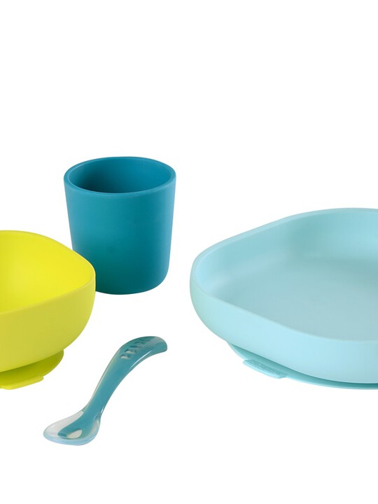 مجموعة أدوات طعام سيليكون من بيبا - 4 قطع image number 1