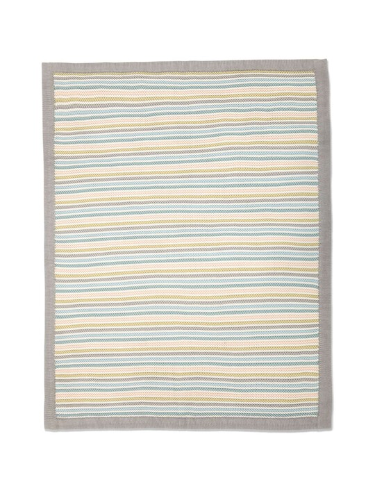 البطانية المعقودة الصغيرة - Stripe Pastel image number 6