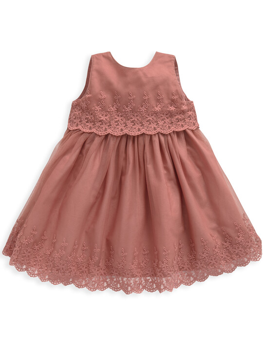 Pink Lace Dress image number 1