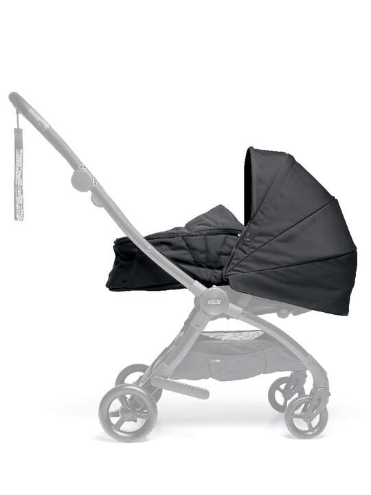 مجموعة مقعد عربة أطفال ايرو لحديثي الولادة - أسود image number 1