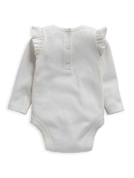 Frill Jersey Bodysuit image number 2