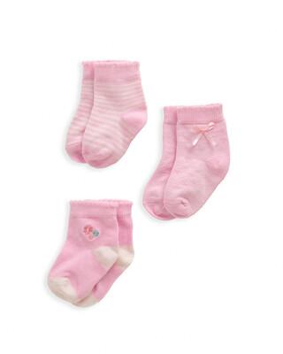 Floral Socks 3 Pack
