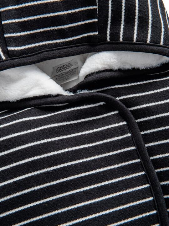 Grey Hooded Pramsuit image number 3