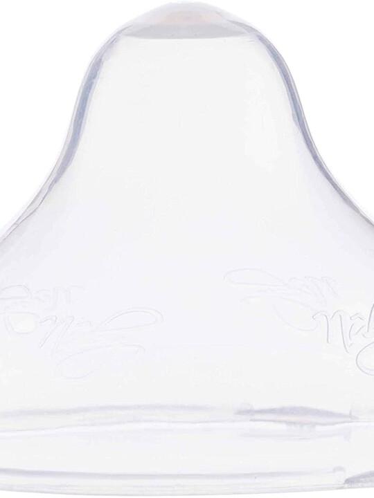زجاجة رضاعة ليتل مومنت بطيئة التدفق سوفت فليكس من نوبي بلون أخضر - 180 ملل image number 2