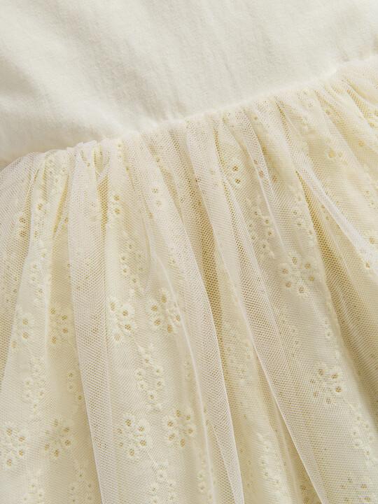 Jersey Broderie Dress image number 3