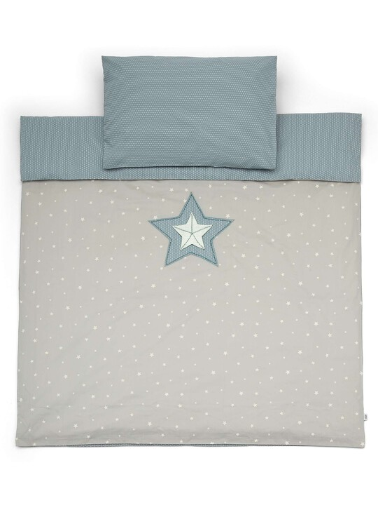 C/BED DUVET CVR & PC - M&B BLUE image number 2