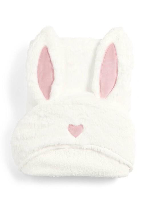 منشفة بغطاء للرأس بتصميم أرنب - ميلي وبوريس image number 1
