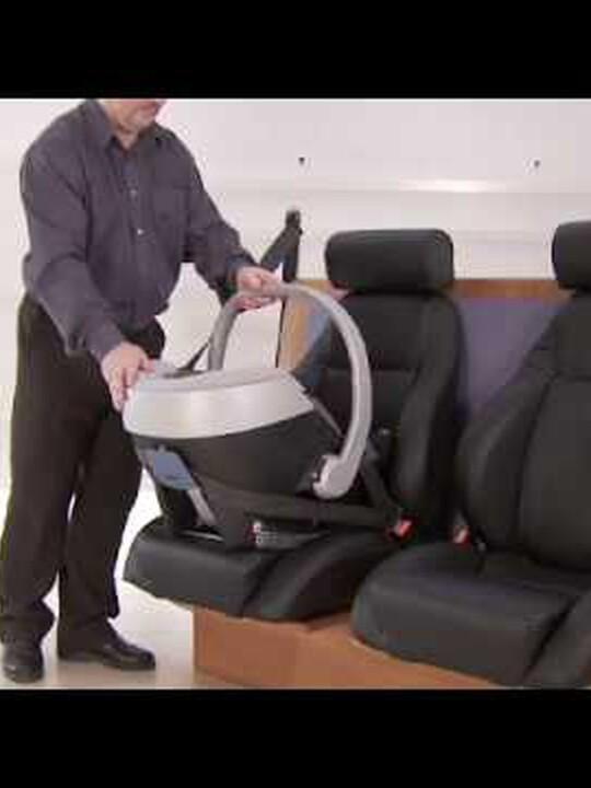 مقعد سيارة Aton - دنيم image number 2
