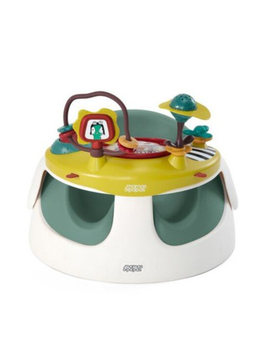 كرسي بيبي سناغ مع لوح ألعاب - بلون أخضر فاتح image number 2