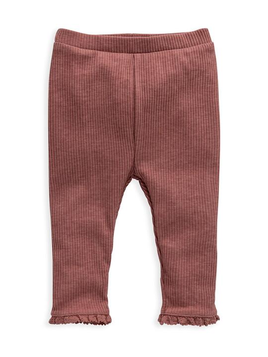 Pink Rib Legging image number 1