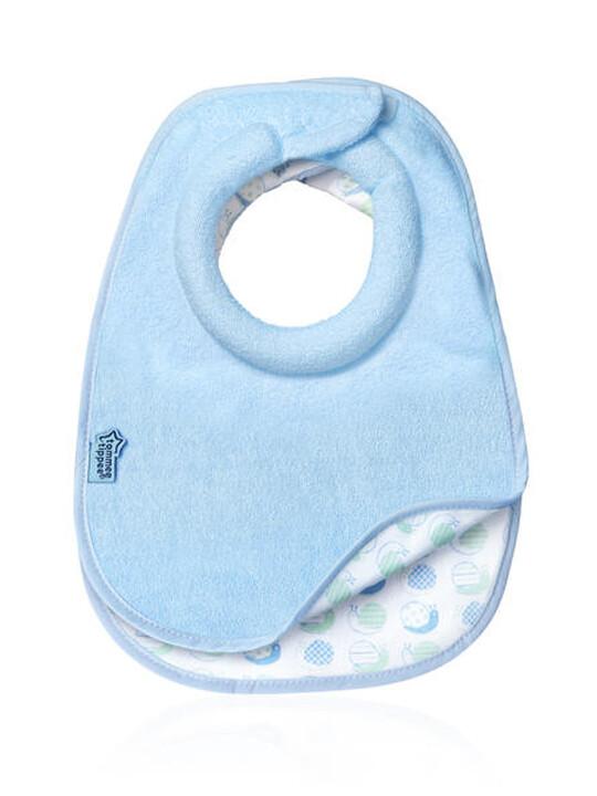 Tommee Tippee Milk Feeding Bib (2 Pack) - Blue image number 1