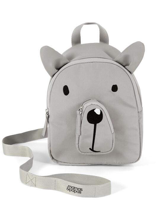 حقيبة ظهر بحزام لمراقبة الطفل - بتصميم دب image number 1